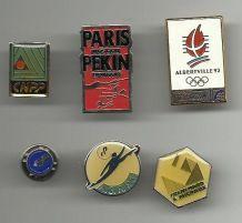 Lot de 6 pins vintage  TBE