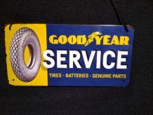 plaque publicitaire Goodyear neuve