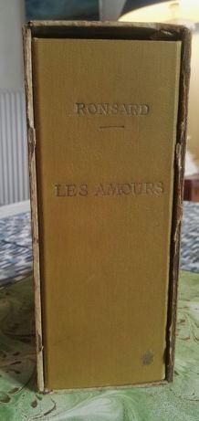 Les Amours, Pierre de Ronsard, Édt d'Art H. Piazza 1926