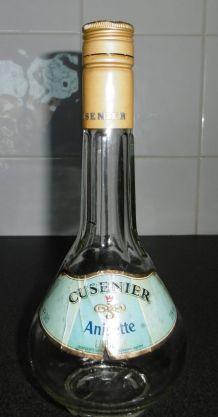 Rare Ancienne bouteille/carafe CUSENIER Liqueur Anisette