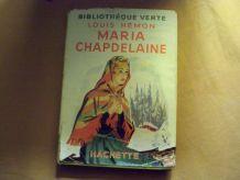 Livre bibliothèque verte Maria Chapdelaine