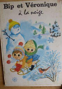 BIP et VERONIQUE à la neige - 1966