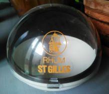 """Sucrier publicitaire """"Rhum St Gilles"""""""