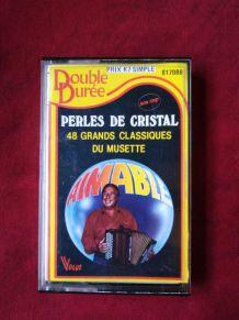 Cassette audio perles de cristal