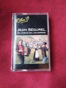 Cassette audio Jean Ségurel au coeur de l'auvergne