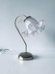 Lampe art déco col de cygne