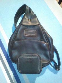 Petit sac à dos Fred et Frida et porte monnaie assorti