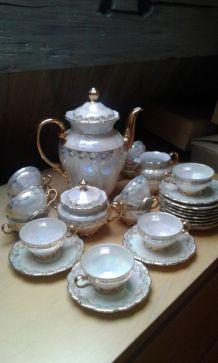 Service café porcelaine Seltmann Weiden