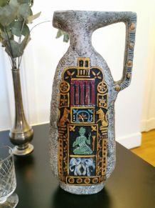 Carafe ou vase signé Paul Garnier