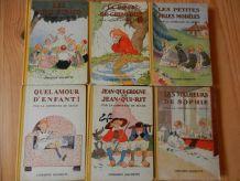 Lot de 6 livres de la Comtesse de Ségur