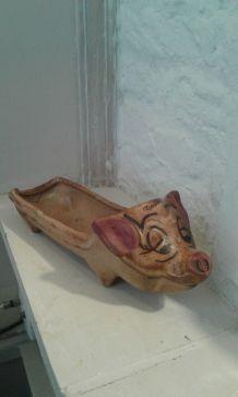 Cochon en ceramique Vallauris
