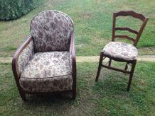 fauteuil +chaise