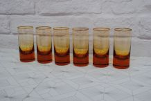 6 verres à whisky en cristal Moser