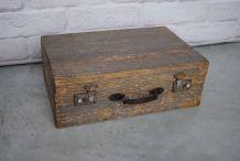Malle en bois 1950