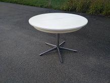 Table et 6 chaises art déco allemand 1969