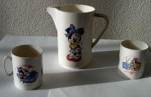 Eléments de dinette, Disney, vintage