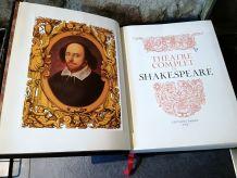 Théâtre complet de Shakespeare Edition Famot 1975 Cuir/Luxe