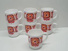 Lot de 7 mugs Mobil