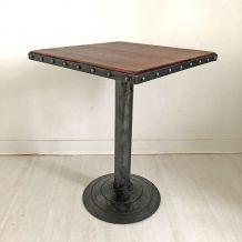 Table de bistrot Art déco