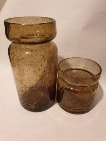 Vases verrerie de Bendor