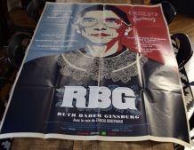 Affiche cinéma RBG dessin Shepard Fairey