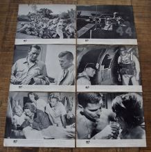 Lot 6 reproduction photos lobby cards Première Victoire 1965