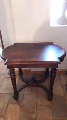 Table guéridon / console  style Napoléon 3