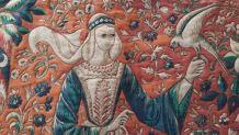 Tapisserie d'Aubusson Dame à la Licorne