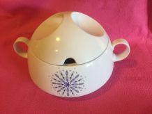 soupière années 60 porcelaine
