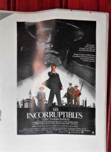 Affiche de film collector - 120x160 - LES INCORRUPTIBLES - 1