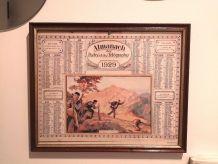 Cadre authentique Almanach 1929