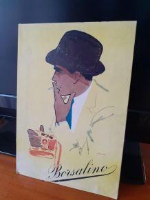 Affiche publicitare authentique Borsalino