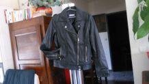Blouson en cuir style Perfecto
