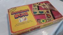 Jeu de société vintage années 70  Dominos en bois