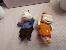 Lot de 2 petites poupées Razmoket