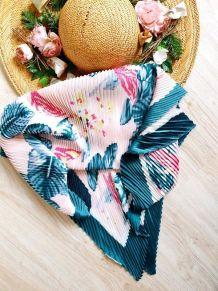 Foulard fleurs des îles