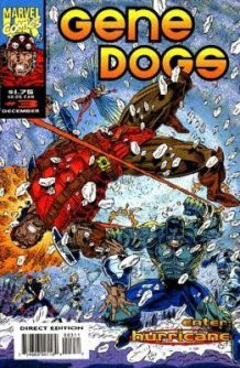 Gene Dogs 3 Marvel Uk 1993