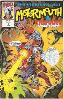 Motormouth & Killpower 8 Marvel Uk 1992