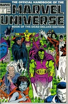 Official Handbook of the Marvel Universe Book Of The Dead