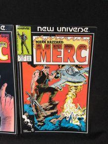 Mark Hazzard Merc 7 Marvel New Universe