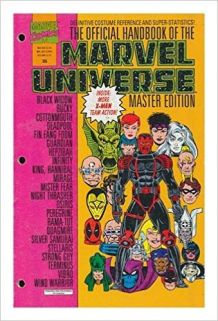 Official Handbook Of The Marvel Universe Master Edition n°25