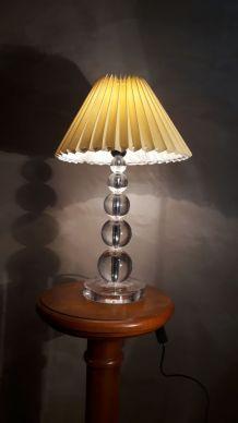 grande lampe a boules plexi 1970
