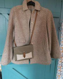 veste pure laine années 70