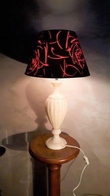grande lampe albatre 1960 a 70