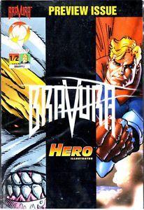 Bravura 1/2 Prewiew Issue Malibu Comics