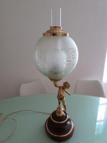lampe de bureau angelot chérubin
