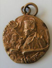 Médaillon bronze jacques edouard gatteaux napoléon bonaparte