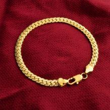 Bracelet Bijoux doré poids 13 grammes