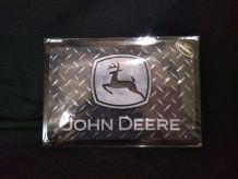 Plaque métal John deere neuve