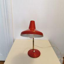 Lampe laiton et aluminium années 70